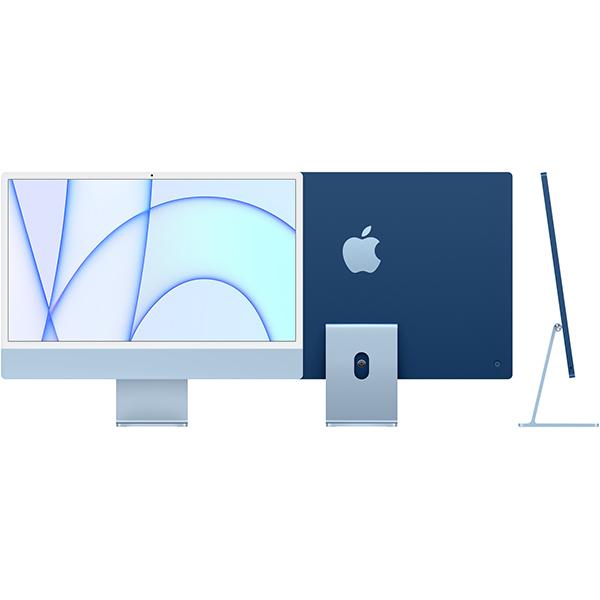アップル Apple Apple iMac 24インチ Retina 4.5Kディスプレイ Apple M1チップ/8コアCPU/7コアGPU/SSD 256GB/メモリ 8GB/ブルー [MJV93J/A]買取画像
