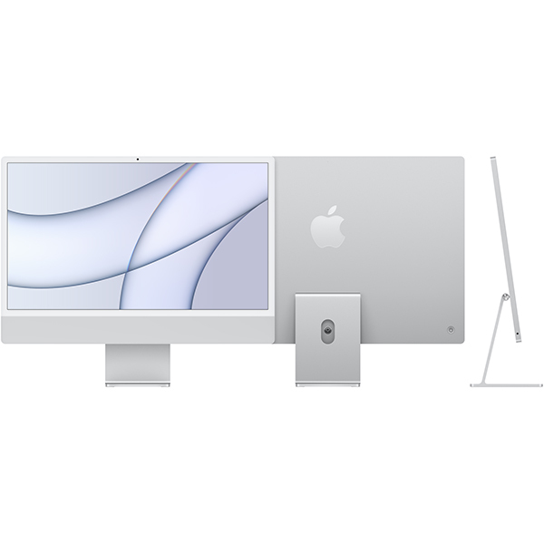 アップル Apple Apple iMac 24インチ Retina 4.5Kディスプレイ Apple M1チップ/8コアCPU/7コアGPU/SSD 256GB/メモリ 8GB/シルバー [MGTF3J/A]買取画像