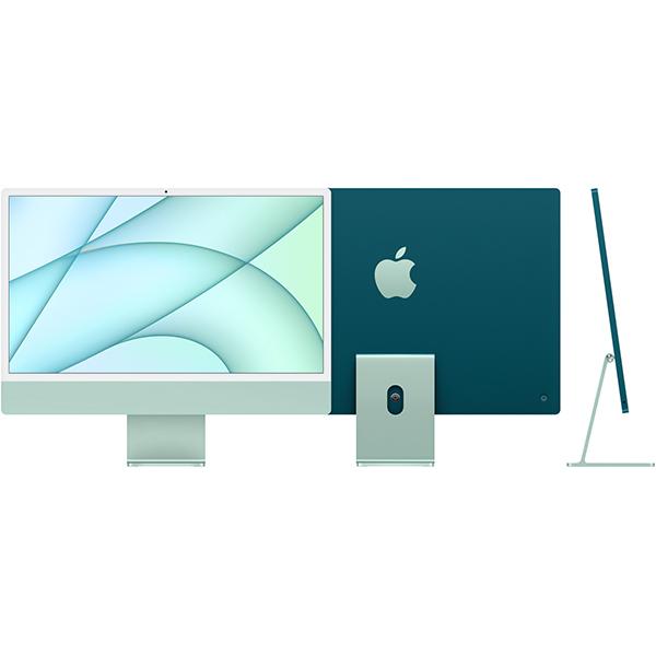 アップル Apple Apple iMac 24インチ Retina 4.5Kディスプレイ Apple M1チップ/8コアCPU/8コアGPU/SSD 512GB/メモリ 8GB/グリーン [MGPJ3J/A]買取画像