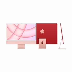 アップル Apple Apple iMac 24インチ Retina 4.5Kディスプレイ Apple M1チップ/8コアCPU/8コアGPU/SSD 512GB/メモリ 8GB/ピンク [MGPN3J/A]買取画像